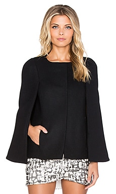 ba&sh Rosie Cape in Noir