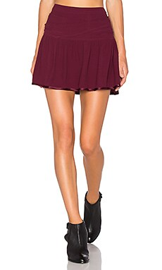 Hello Skirt in Prune