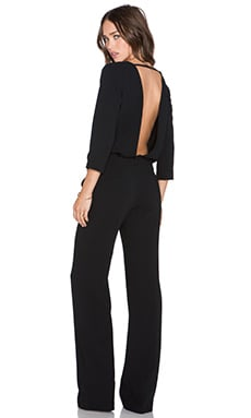 ba&sh Julia Jumpsuit in Noir
