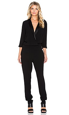 ba&sh Hopper Jumpsuit in Noir