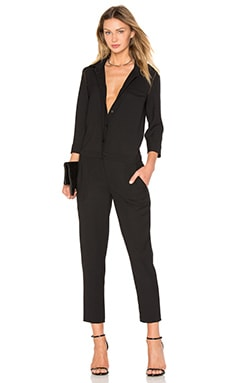 ba&sh Darya Jumpsuit in Noir