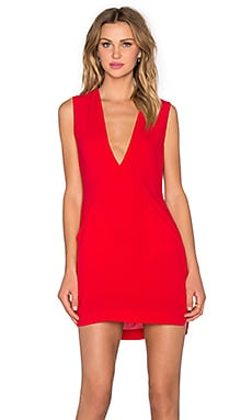 Lisa Dress en Rouge