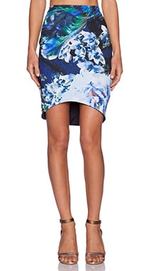 Backstage Harper Skirt in Blue