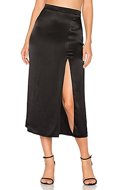Madison Skirt en Noir