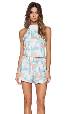 Rhythm Playsuit in Powder