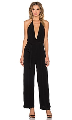 Backstage Sammie Jumpsuit in Black