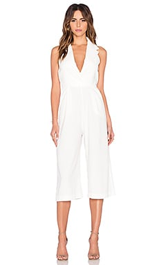 Backstage Harper Jumpsuit in Ivory