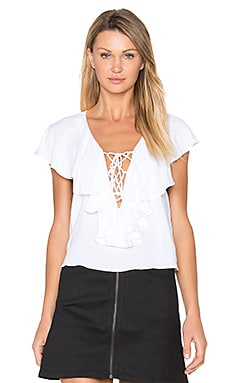 x REVOLVE Leia Top in White