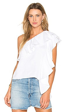 Santorini Top in White