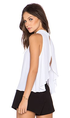 Backstage Loren Top in White