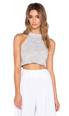 Backstage Nicolette Crop Top in Marle