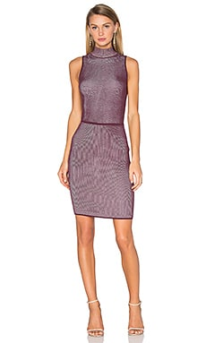Confident Dress in Plum