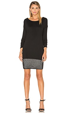 Bailey 44 Motivated Dress in Black & Chalk