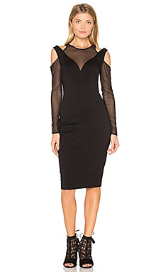 Too Close Dress en Noir