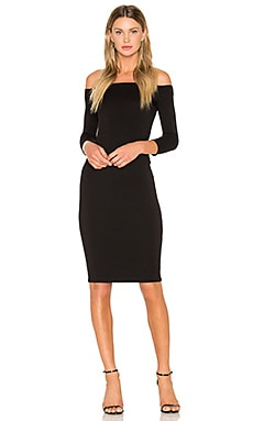 Broad Reach Dress in Black