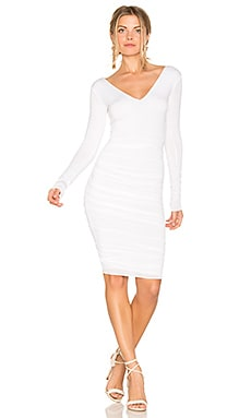 Go the Distance Dress in White