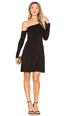 Down to the Wire Dress in Schwarz