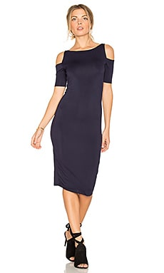 Deneuve Dress in Navy