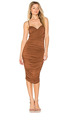 Cumbia Dress in Tobacco