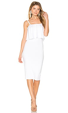 Dominica Dress in White