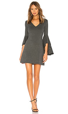 Avalanche Bell Sleeve Ponte Dress Bailey 44 $129