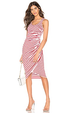 OBJET D'ART VENICE STRIPE ドレス Bailey 44 $178 ベストセラー