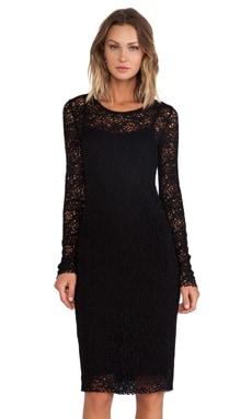 Bailey 44 Snow Crystal Dress in Black