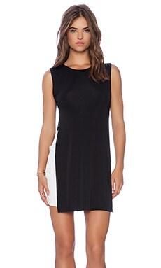 Bailey 44 Domino Dress in Black & White
