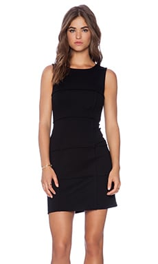 Bailey 44 Puzzle Cube Dress in Black
