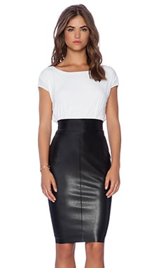 Bailey 44 Hourglass Puzzle Dress in White