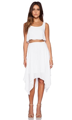 Bailey 44 Undercut Dress in White