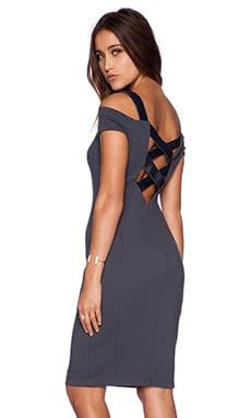 Bailey 44 Drop Shot Dress in Ebony