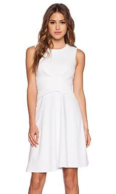 Bailey 44 Scored Dress in White