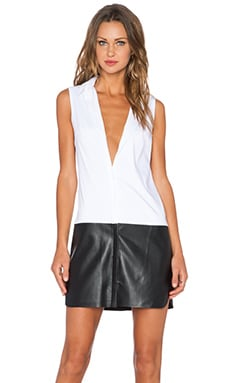 Bailey 44 Ferreri Dress in White & Black