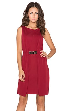 Bailey 44 Snapdragon Dress in Burgandy