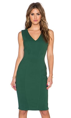 Grand Central Dress in Pine