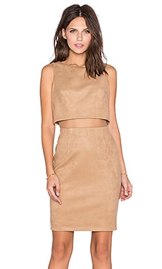 Perry Dress in Camel
