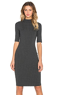 Bailey 44 Grid Dress in Anthracita