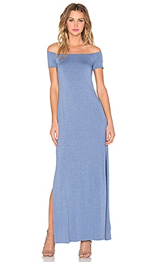 Hydra Dress in Heather Blue