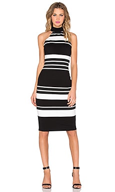 Bailey 44 Cyclopes Dress in Black & White