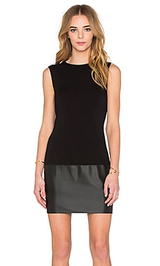Sleeveless Sedgwick Dress in Black