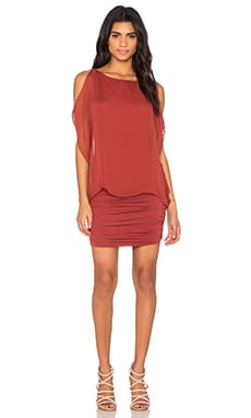 Dallal Dress in Spice Red