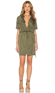 Lebombo Dress en Olive