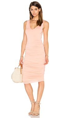 Enigma Dress in Soft Coral