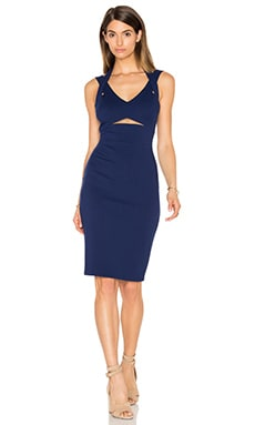 Dazzle Dress in Blue Indigo