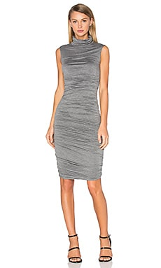 Ludlow Dress en Gris Anthracite