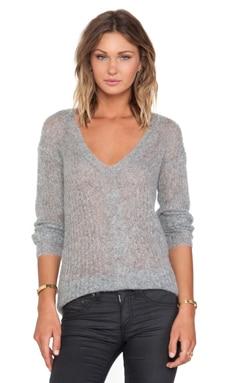 Bailey 44 Syncopated Rhythm Sweater in Grey