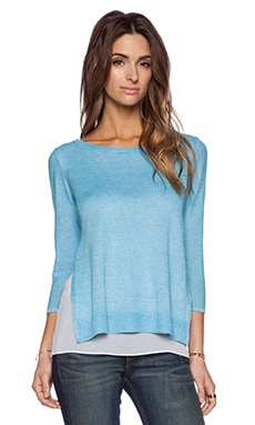Bailey 44 North Shore Sweater in Turq
