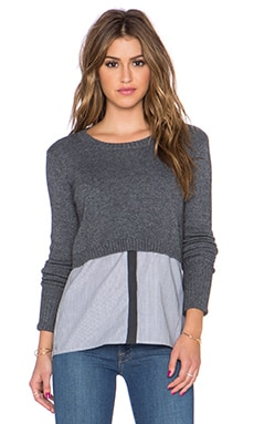 Crosby Sweater en Anthracite