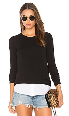 Bailey 44 Staten Sweater in Black